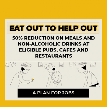 Eat Out to Help Out takes off – webinars to help businesses