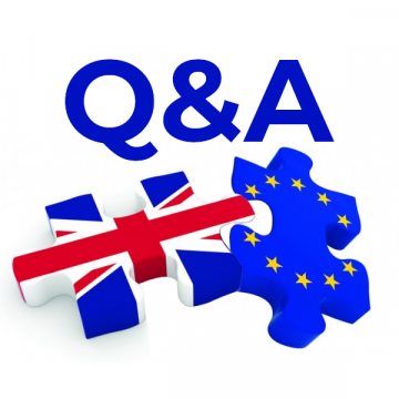 Brexit and the End of Transition preparations
