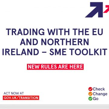 Government pptx presentation on trading with the EU and NI for SMEs