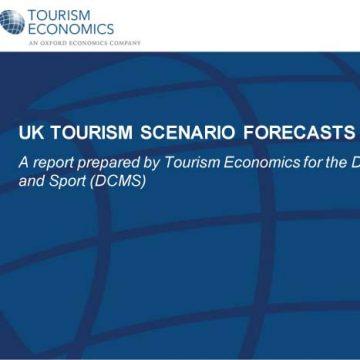 UK Tourism Scenario Forecasts from Tourism Economics